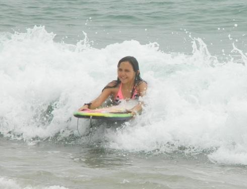 Emily Bougieboarding