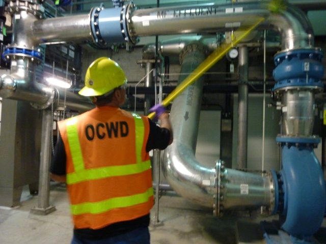OCWD's Groundwater Replenishment System is a drought-resilient source of water for the northern section of Orange County.